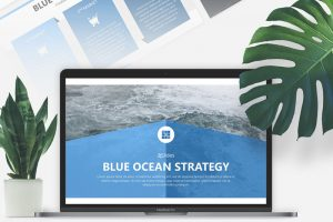 Blue Ocean Strategy Free Powerpoint Template