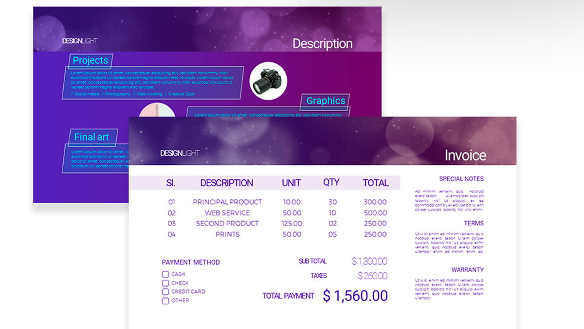 Design light free powerpoint template design light free powerpoint template slide 6 toneelgroepblik Image collections