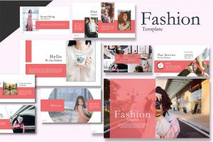 Notch Fashion Free Powerpoint Template