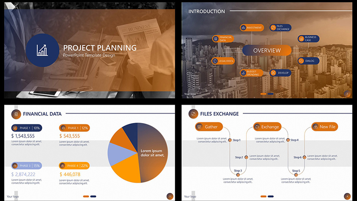 Project Planning Free Powerpoint Template
