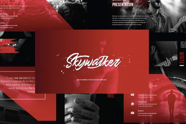 Skywalker Powerpoint Template