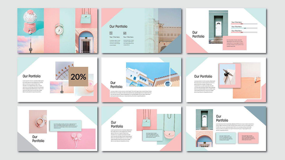 Pink Pastel Free Powerpoint Template