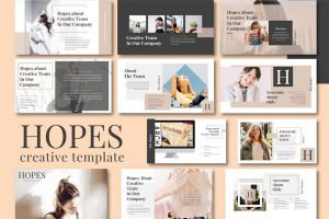 Spark Fashion Powerpoint Template