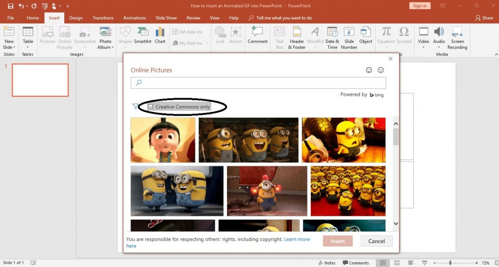 How to Insert an Animated Gif into PowerPoint