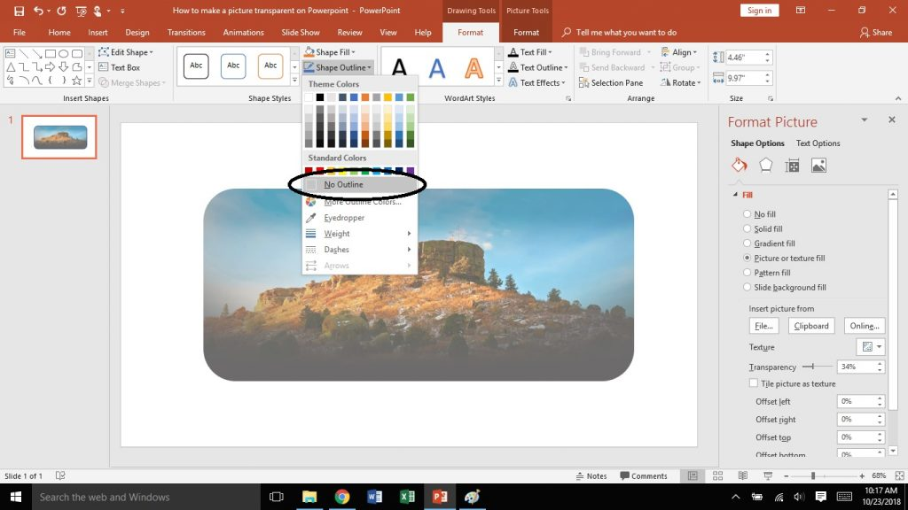 How to Make a Picture Transparent in Microsoft PowerPoint