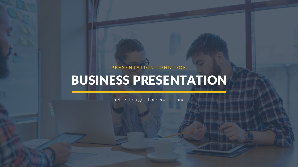 Burbank Business Proposal Free Powerpoint Template