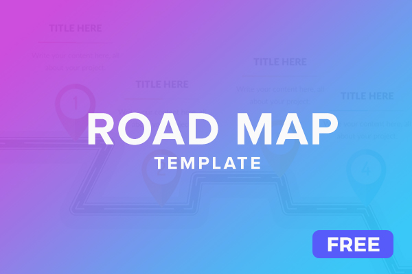 Free Colorful Roadmap Powerpoint Slides