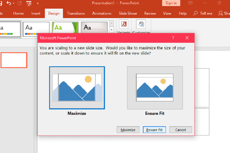How To Change The Size Of A Slide In Microsoft Powerpoint