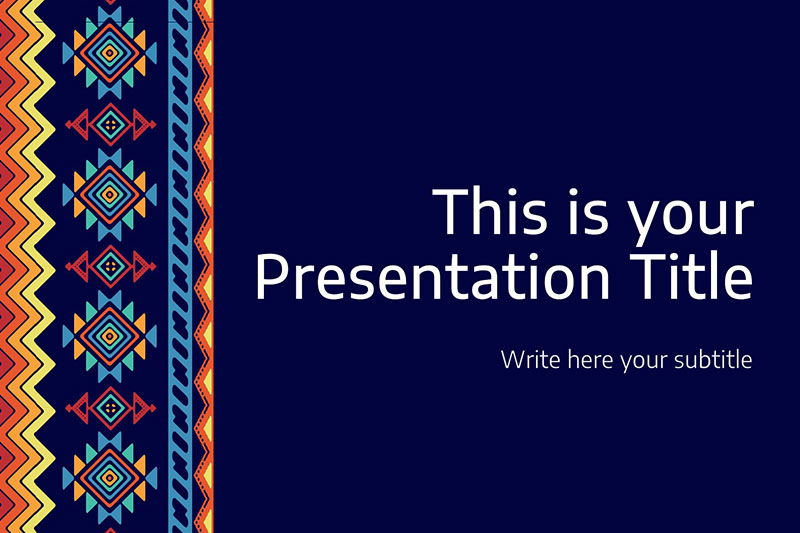 Amythest Free Powerpoint Template