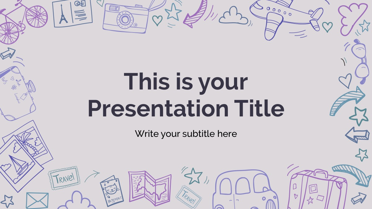 Miles Free Powerpoint Template