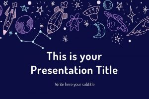 25 Free Space Powerpoint Templates