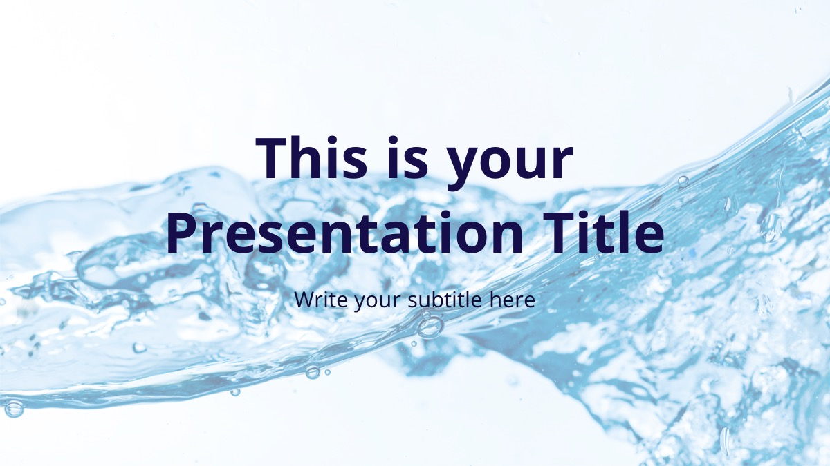 Crystal Free Powerpoint Template