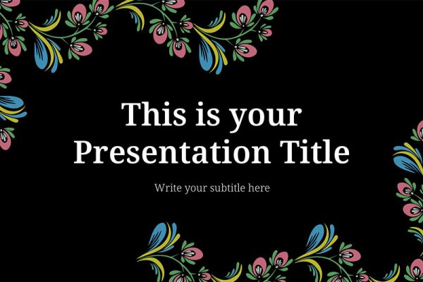 Hailey Free Powerpoint Template