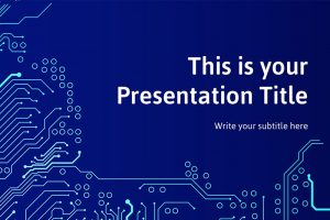 Lazuli Free Powerpoint Template